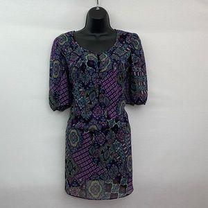 Ronni Nicole Sheer Mini Dress Size 10 N-10